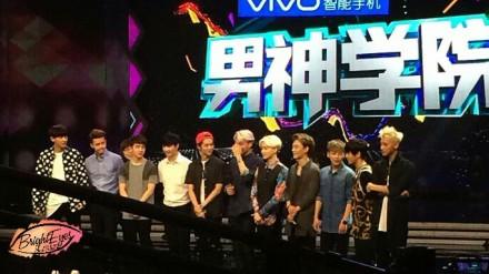 EXO进快乐大本营 成员出道前后惊人对比照公开