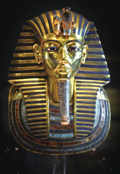 埃及否认古埃及法老图坦卡蒙黄金面具受损