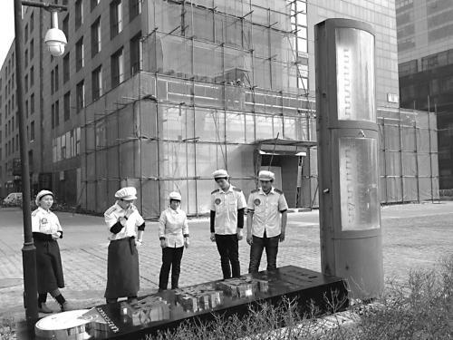 """北京""""钓鱼岛""""餐厅广告被拆 物业威胁停水电"""