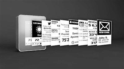 个性化WiFi显示器问世 可按需求选择屏幕所显示项目