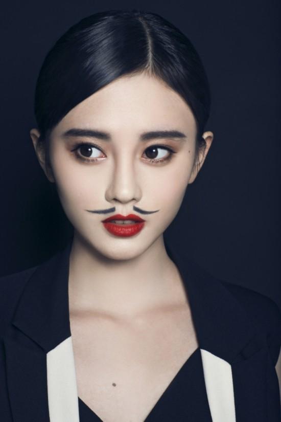SNH48鞠婧?、张语格反串男性写真【2】