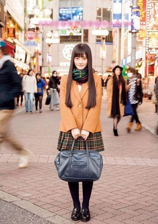 4000年一遇美少女登日本杂志 甜美清新