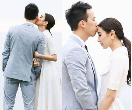 吴雨霏与青梅竹马男友结婚
