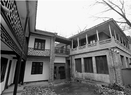 蒋经国旧居门庭冷落,正准备装修。林云龙 摄