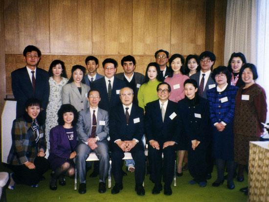 设置中国留日学生奖学金(1993年度)