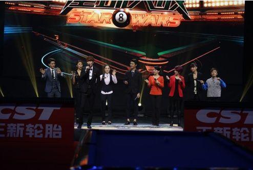 《星球大战》中韩美女对战 潘晓婷车侑蓝领衔对决