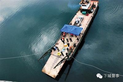 杭州警方谈深水捞尸:历时近两年 花费超百万