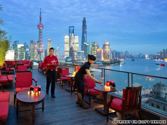 屋顶上的奇迹 世界16大天台酒吧