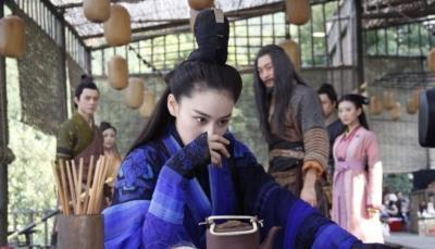 陈妍希《新神雕侠侣》最新仙气美照曝光 陈晓赵丽颖张馨予片场美丑对比