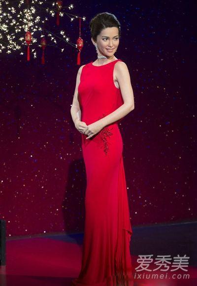 李冰冰蜡像不像本人 东方美人惊变西方公主
