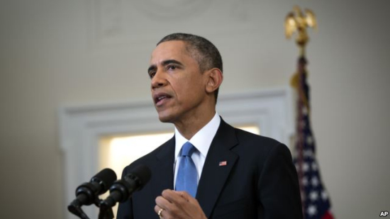 奥巴马谴责IS杀害日本人质赞日方推进中东和平