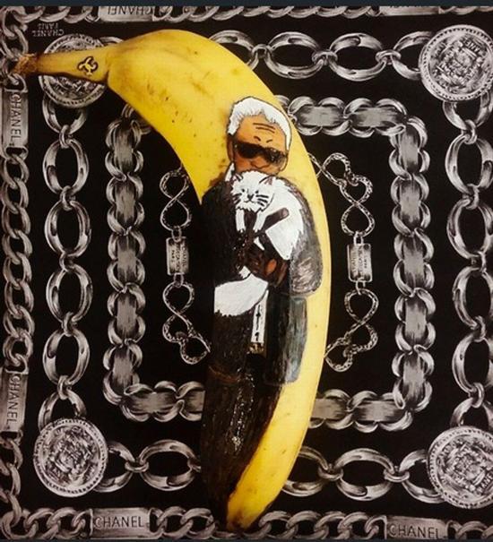 英女主厨绘制香蕉艺术品登时尚杂志获好评【9】