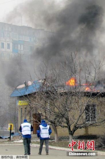 乌东部停火谈判失败双方战火重燃致数十人死伤