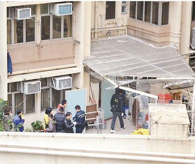 疑与小7岁男友吵架韩国女子在香港跳楼死亡(图)