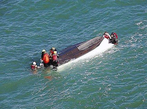 日本一游船倾覆致1人遇难海上保安厅介入调查