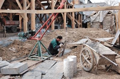北京四合院私挖地下室成风 (37)