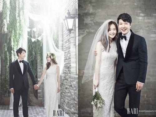 韩演员尹相铉将与小6岁女友结婚婚纱照曝光(图)