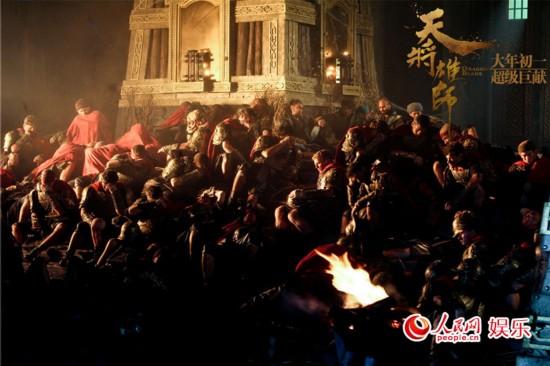 《天将雄师》发剧情预告片 西蒙子册封成龙为罗马将军