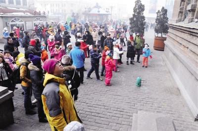 哈尔滨一广场800多只鸽子离奇死亡口吐黏液眼流血