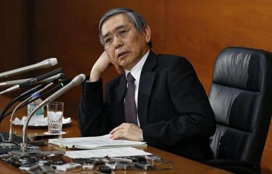 外媒:油价下跌恐令日本央行通胀目标沦为泡影