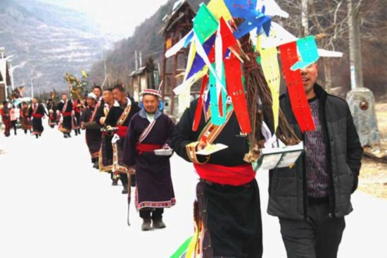 Ancient tribe relishes New Year