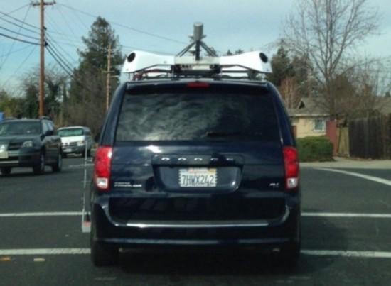 苹果或推出街景服务:神秘测量车现身