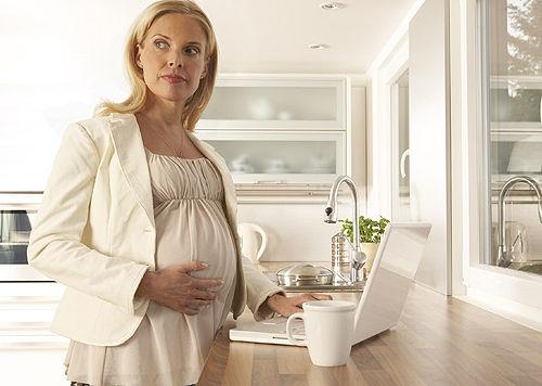 白领孕妈如何防办公室污染?