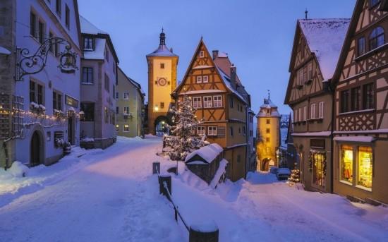 全球最美冰雪小镇:如童话般美丽
