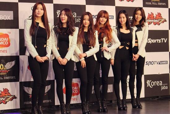 日本游戏举办格斗大赛 韩国众女星性感抢镜