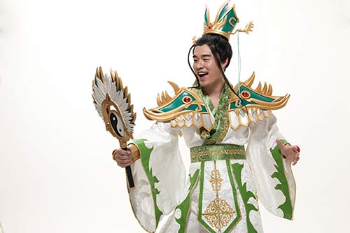 陈赫演绎最贱诸葛亮 新剧开拍工作恢复正常/图
