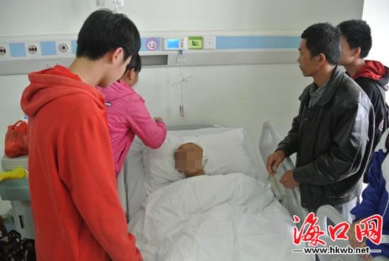 16岁男生突发脑出血在校昏迷无钱治病盼救助