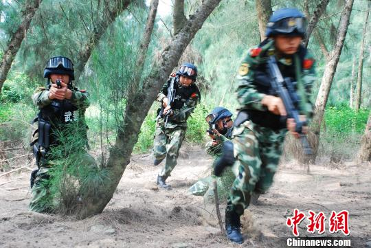 探秘博鳌亚洲论坛年会安保部队反恐实战训练