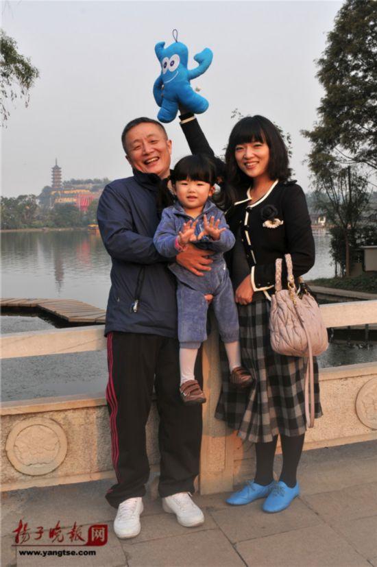 镇江一对父女连续35年同地点拍照留影演绎父爱传奇(组图)【31】