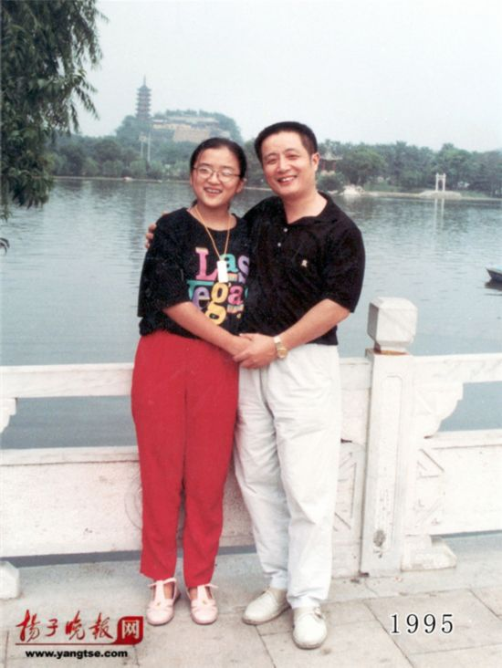 镇江一对父女连续35年同地点拍照留影演绎父爱传奇(组图)【16】