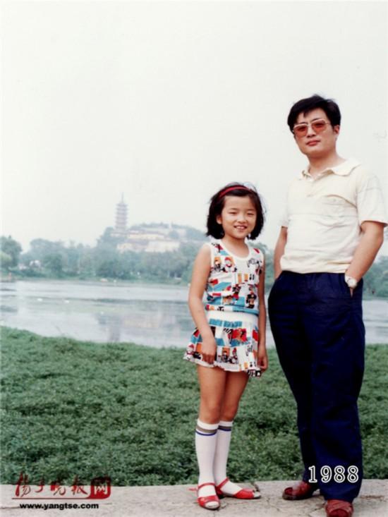 镇江一对父女连续35年同地点拍照留影演绎父爱传奇(组图)【9】