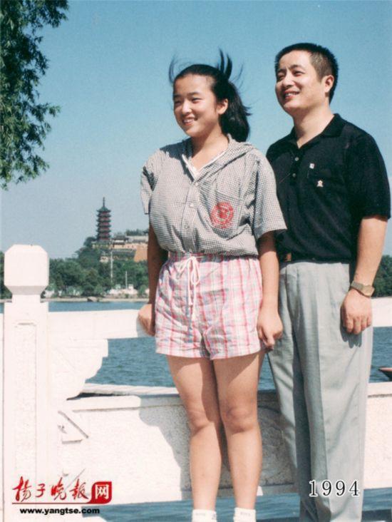 镇江一对父女连续35年同地点拍照留影演绎父爱传奇(组图)【15】