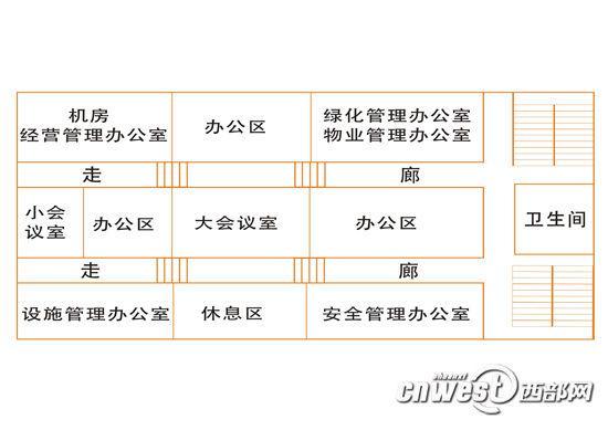 """西安城墙体内被掏建""""办公楼"""" 餐厅排练场一应俱全(组图)"""