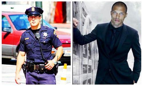 """美国""""最帅囚犯""""和""""最帅警察"""" 你喜欢哪个"""