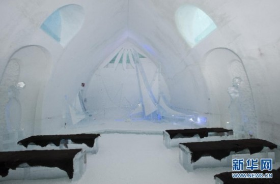 高清:童话王国!魁北克的冰雪酒店【4】