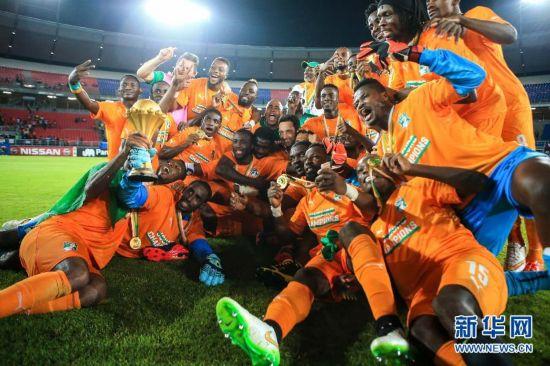 (体育)(2)足球――科特迪瓦队夺得2015年非洲杯冠军