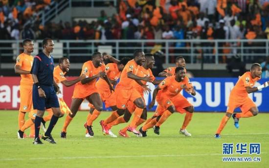 (体育)(7)足球――科特迪瓦队夺得2015年非洲杯冠军