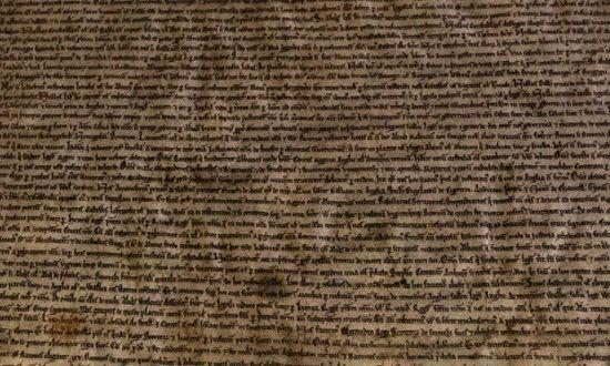 英国《大宪章》早期版本现世价值千万英镑(图)