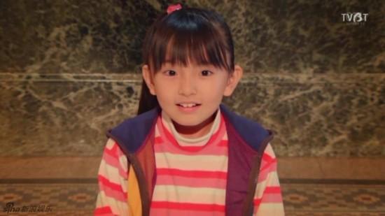 日本10岁小萝莉铃木梨央走红 绝对美过Angelababy图片