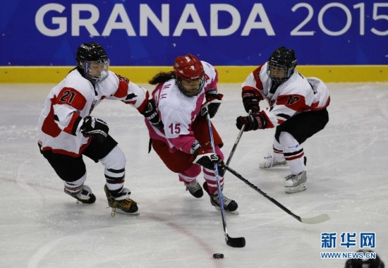 (大冬会)(1)女子冰球――中国队不敌日本队