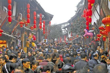 春节主城周边耍事多 部分景区门票打五折