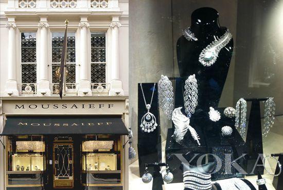 1963年穆萨耶夫在伦敦开了第一家店,伦敦店位于著名的老邦德街