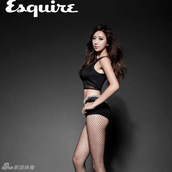 韩国美女健身教练走红网络 江西频道