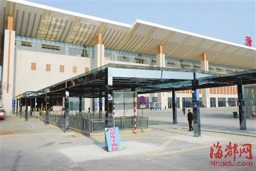 莆田火车站风雨廊投用 乘客可直通地下停车场