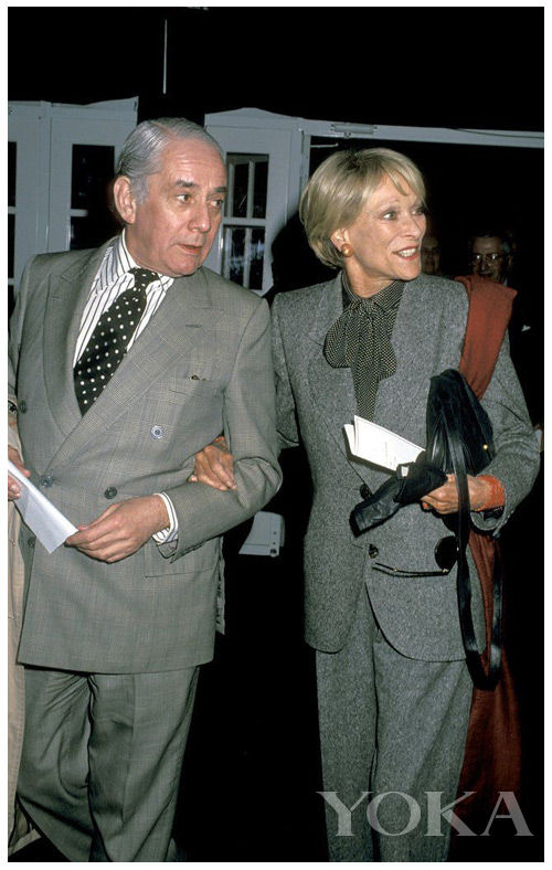 Kenneth Lane和Nan Kempner
