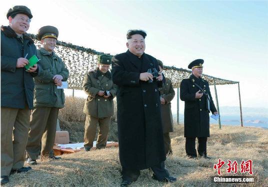 朝鲜发表近万字联合口号呼吁以最快速度建强国